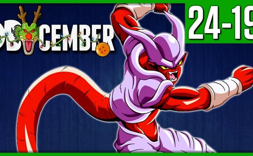 Dragon Ball Top 24 Villains Part 1 – DBcember 2016 – Team FourStar