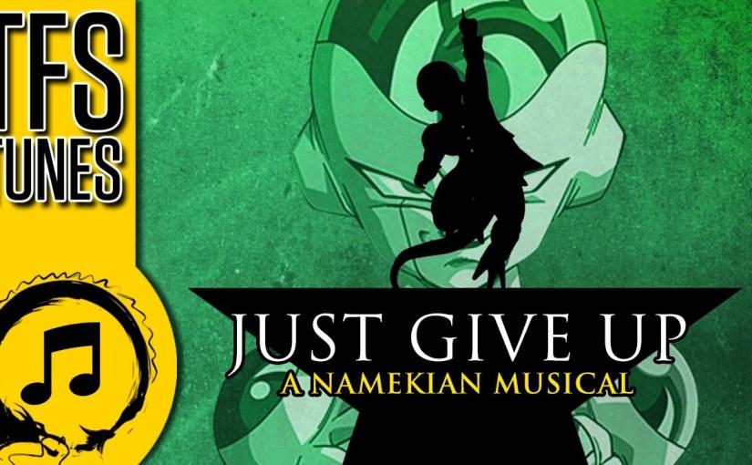 Dragonball Z Abridged MUSIC: Freeza – Just Give Up! (A Hamilton SongParody)