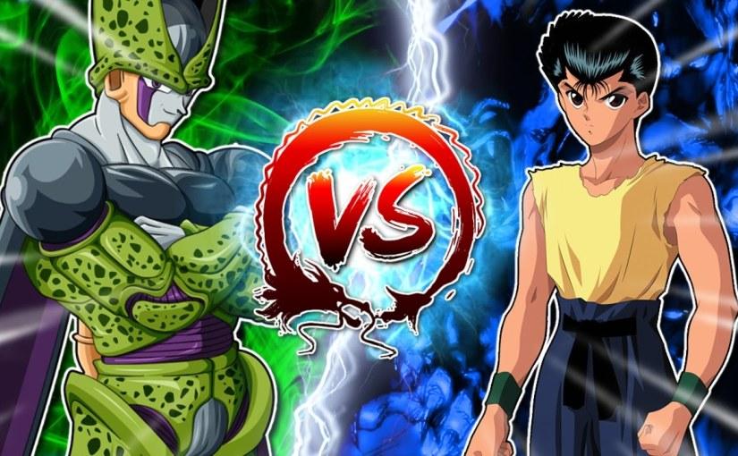 Dragon Ball Z Abridged: Cell Vs Yusuke #CellGames |TeamFourStar