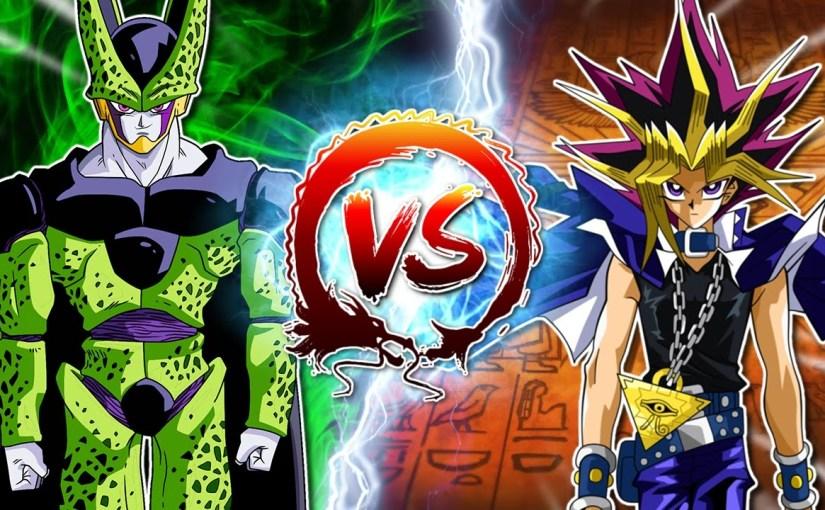 Dragon Ball Z Abridged: Cell Vs Yami Yugi #CellGames |TeamFourStar