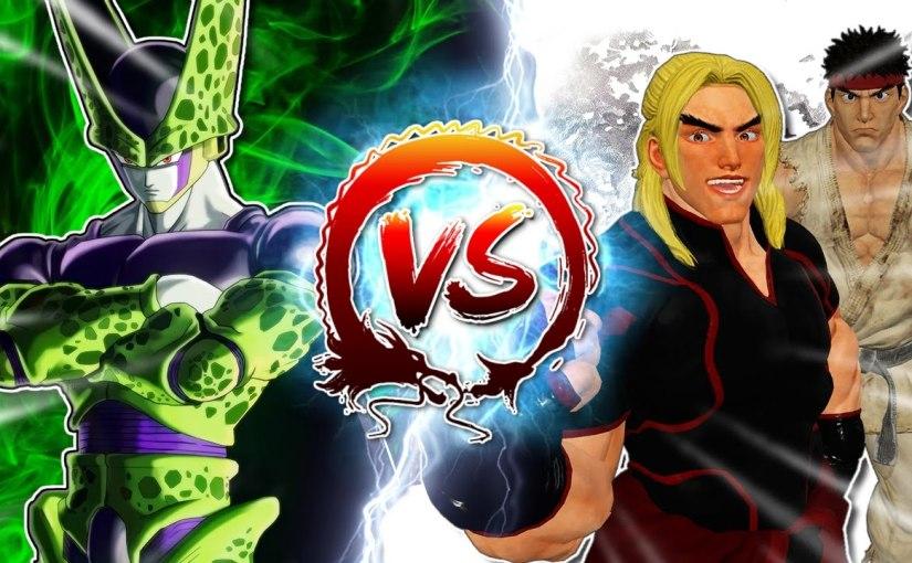 Dragon Ball Z Abridged: Cell Vs Ryu & Ken #CellGames |TeamFourStar