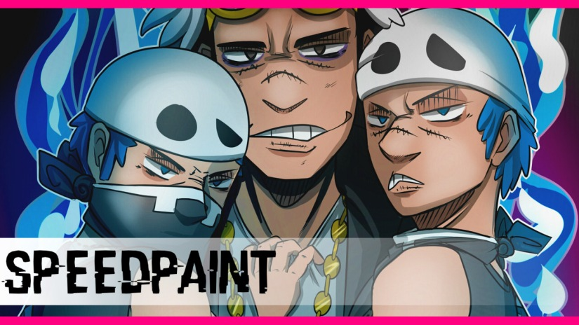 Speedpaint #10: Team SkullTrio