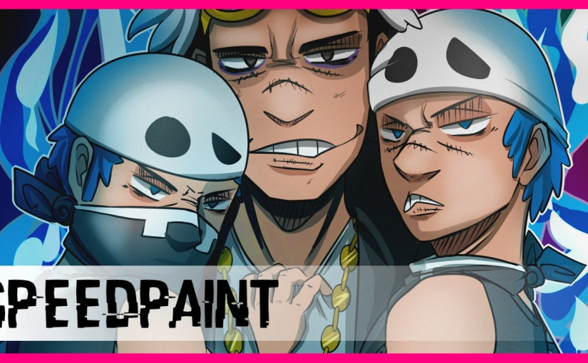 Speedpaint #10: Team Skull Trio
