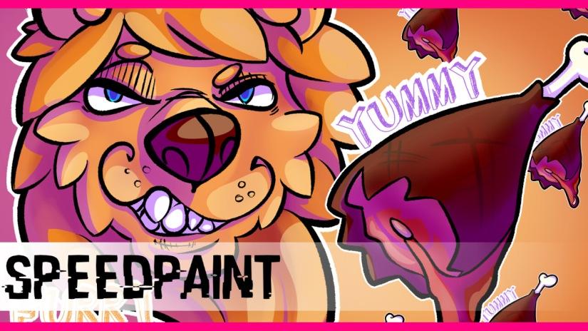 Speedpaint #11: FurryKing!