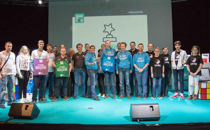 Game of Code Hackathone 2017 – Awards Open DataChallenge