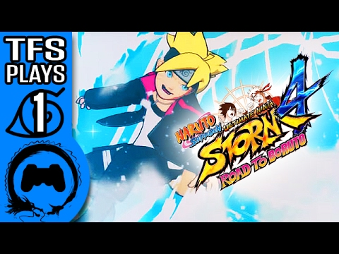 Naruto Ultimate Ninja Storm: Road To Boruto – TFS Plays