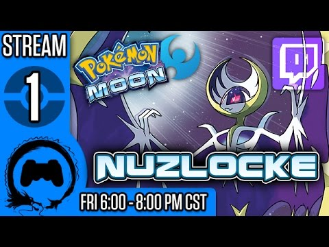 Pokemon MOON NUZLOCKE (BLIND) Part 1 – Stream Four Star – TFS Gaming