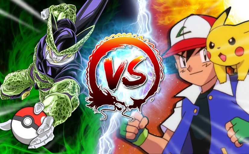 Dragon Ball Z Abridged: Cell Vs Ash Ketchum #CellGames | TeamFourStar
