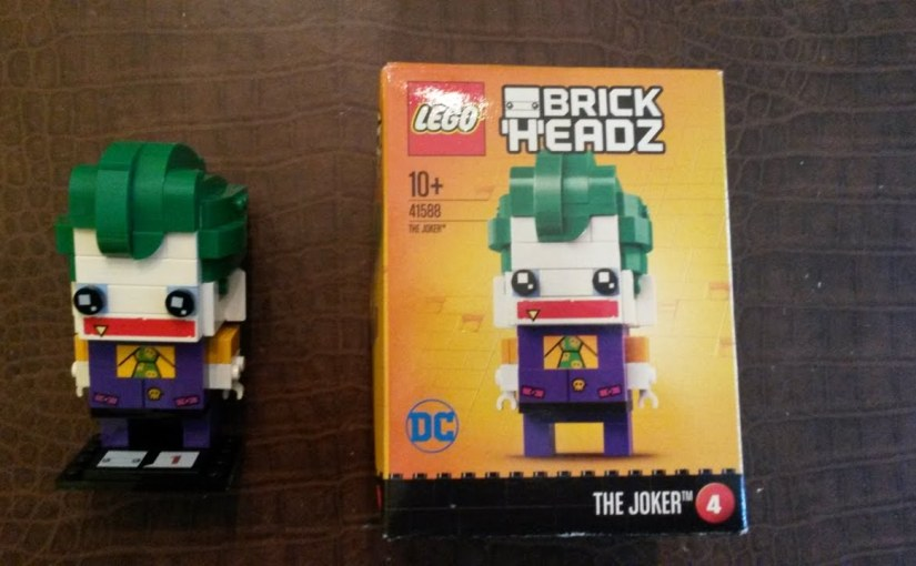 Lego Joker Brick Headz (41588) Madsplay