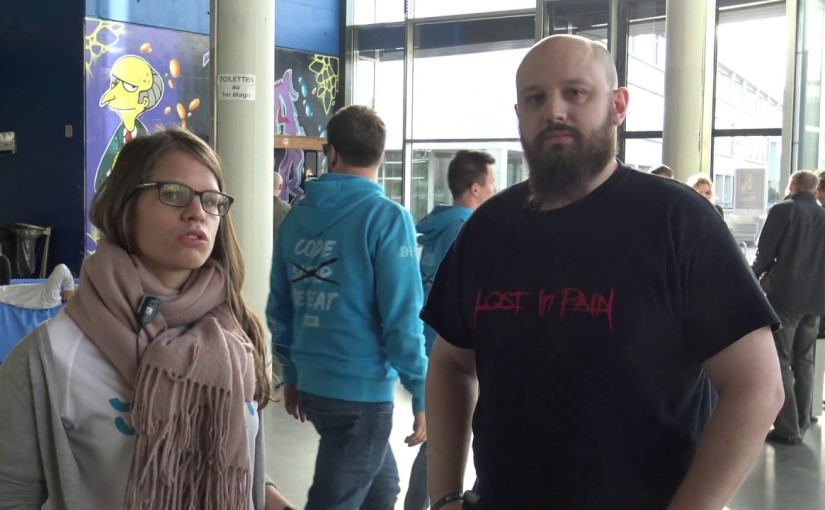 Interview Hackathone 2017 – Interview PascaleWeber