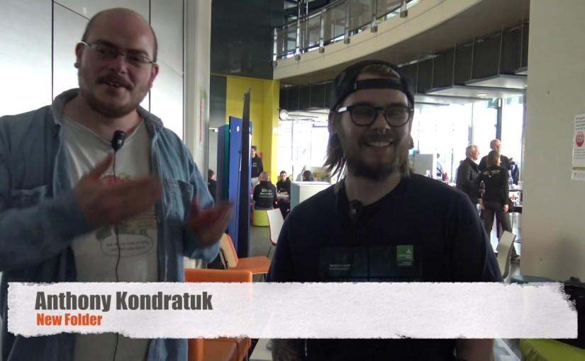 Interview Hackathone 2017 – Interview AnthonyKondratuk