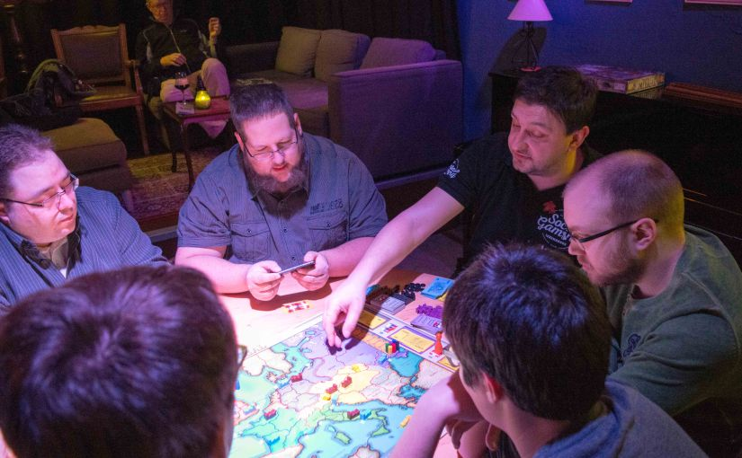 Social Gaming at Ratelach 2 March 2017