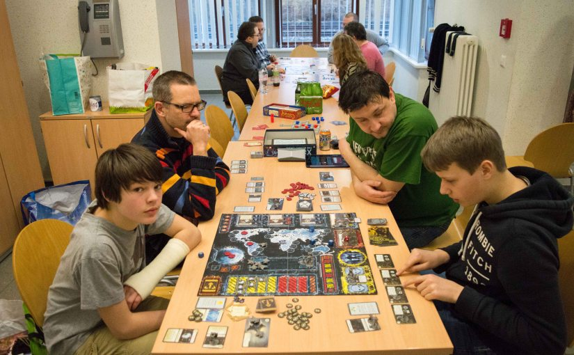 Social Gaming Clubroom at the Gare Tétange 5 March2017