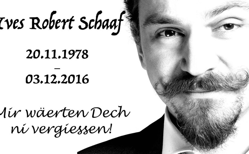 In Loving Memory of Yves Robert Schaaf (Rob Phoenix )