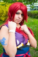 Erza Scarlet Fairy Tail © Sam van Maris Geeks Life Luxembourg-2-4
