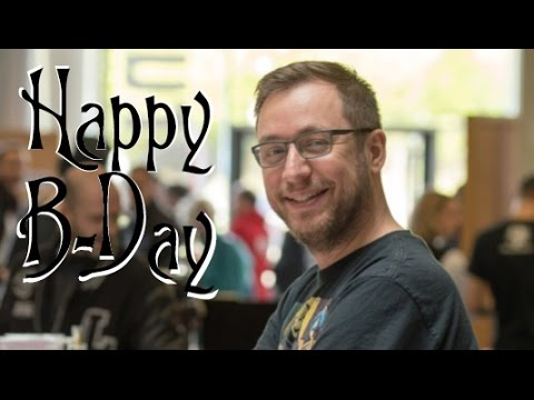 Luxcon 2017 – Happy B-Day to Andy Genen