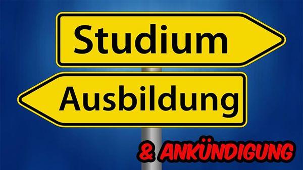 STUDIUM vs. AUSBILDUNG + Ankündigung |AkebanShorts