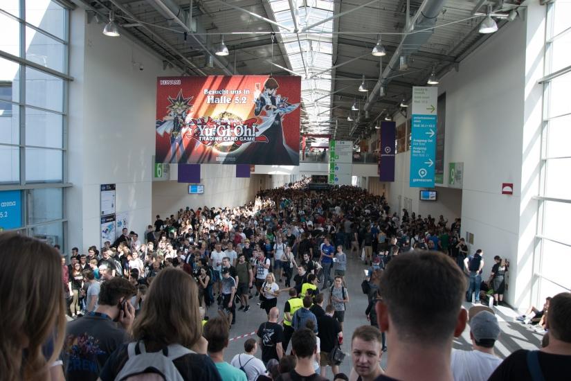 A Day at Gamescom2017