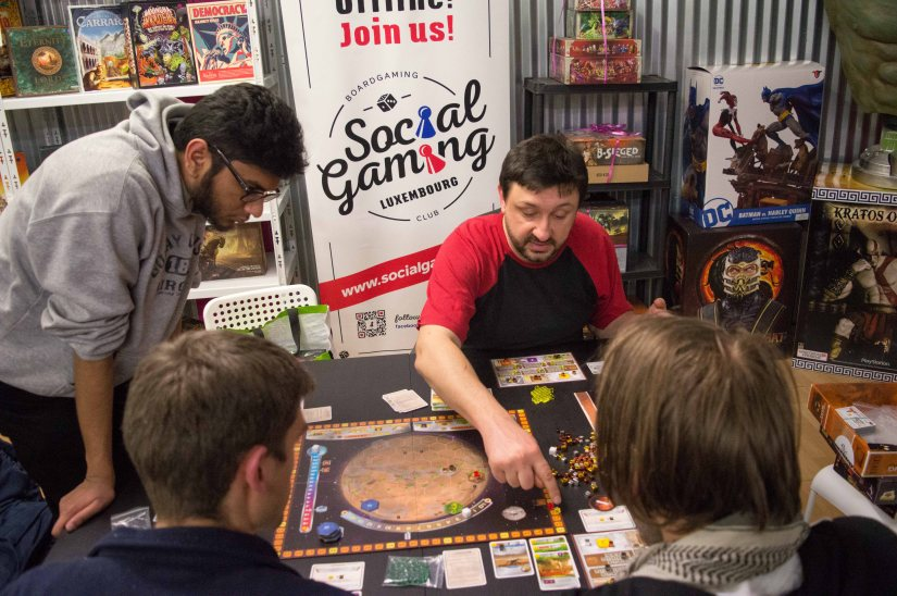 Social Gaming Luxembourg at the InkedGeeks