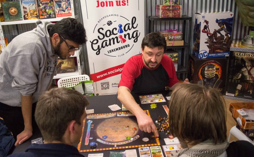 Social Gaming Luxembourg at the Inked Geeks